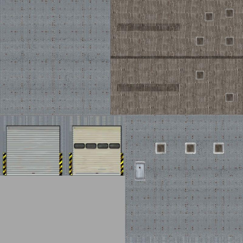 Comment reproduire une texture réelle avec GIMP. Hangar10
