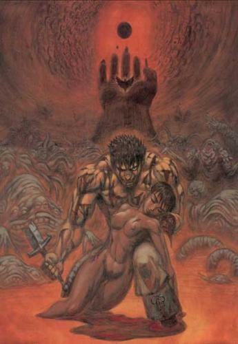 [Berserk] Guts & Casca Illust10
