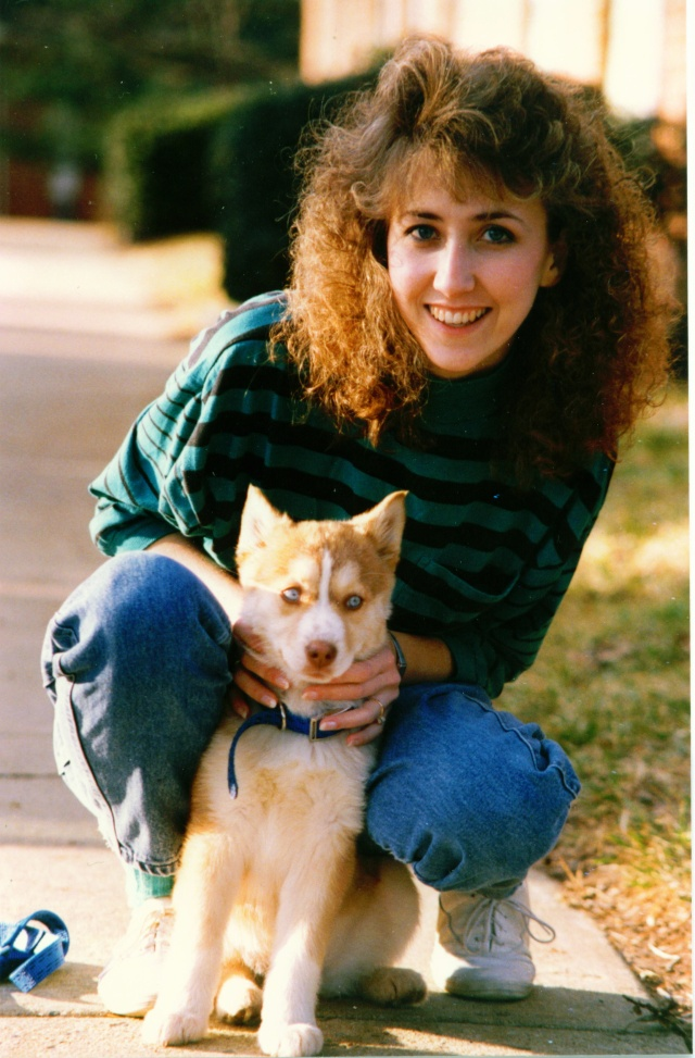In memory of my beautiful Sandy - 1989-2007 Lisa_a10