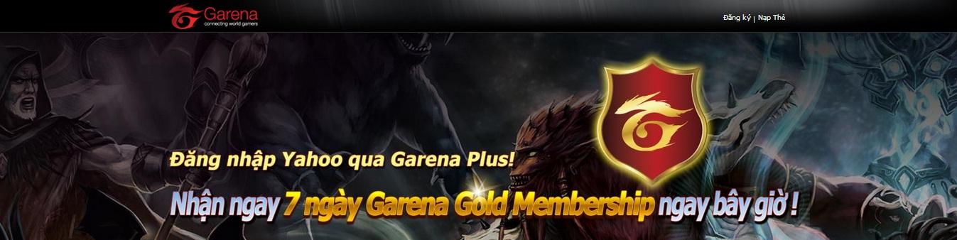 [Hot]Nhận Ngay 7 Ngày Gold Membership Chỉ Việc Kết Nối Yahoo