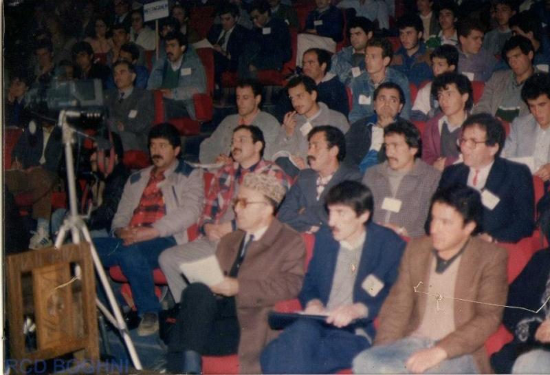 ASSISES DU MCB ET NAISSANCE DU RCD 1989 à Tizi Ouzou, Algerie 114