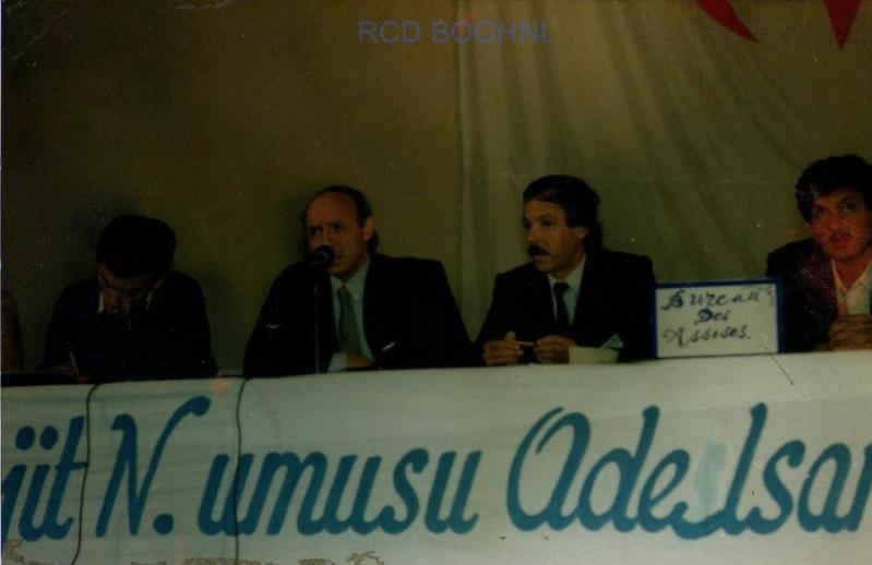 ASSISES DU MCB ET NAISSANCE DU RCD 1989 à Tizi Ouzou, Algerie 127