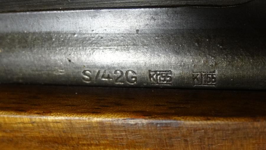 Mauser pour cycliste et marquages 415
