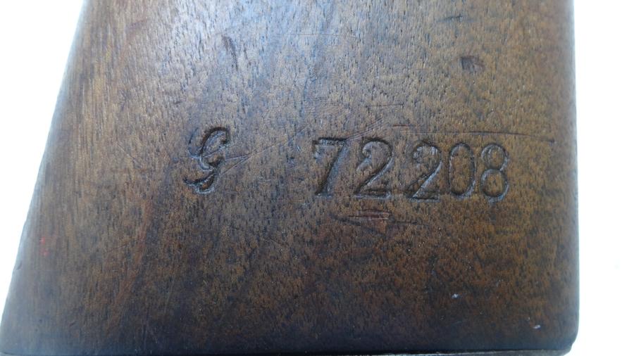 mousqueton St ETIENNE 1892 réceptionné en 95 815