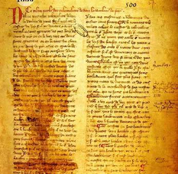 AUX SOURCES DU CHAOS MONDIAL ACTUEL : L'usure, axe central de l'histoire de l'Occident  1260-110