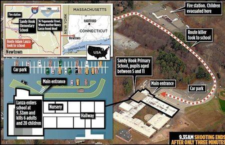 La tuerie du Connecticut serait-elle un coup monté ? La question se pose…  82067510