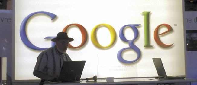 Presse : Google verse un chèque de 60 millions d'euros  Google10