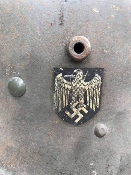Casque autrichien réutilisé 40 F8aba410