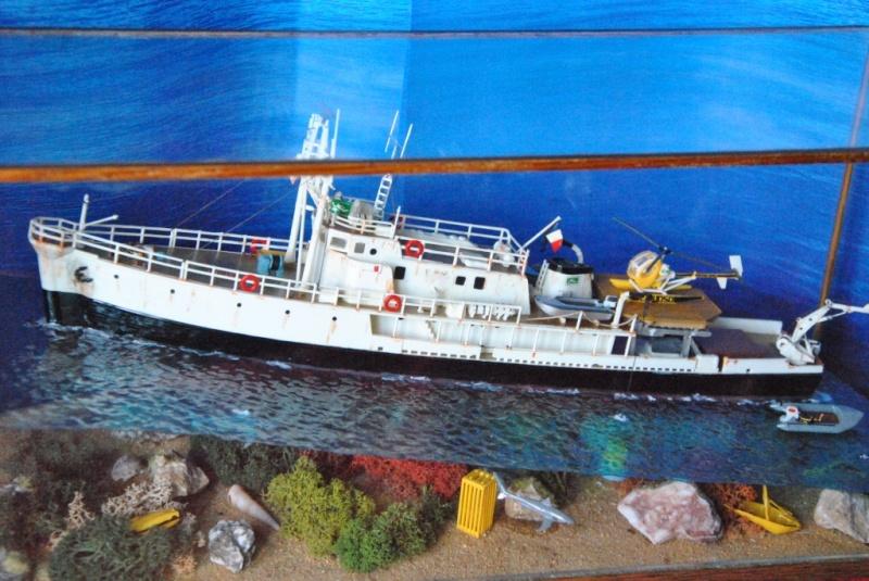 Dio : La Calypso en aquarium (Revell 1/125°) par jeannot1 Dsc_4739
