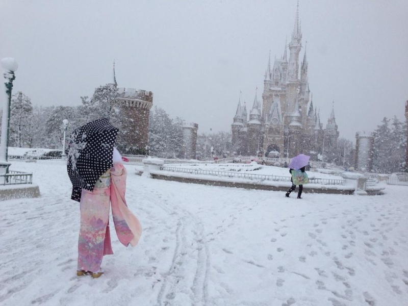 Tokyo Disney sous la neige ^^ 14vg1010