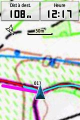 Bug gpsmap62s ? carte et compas opposés 8725_b10