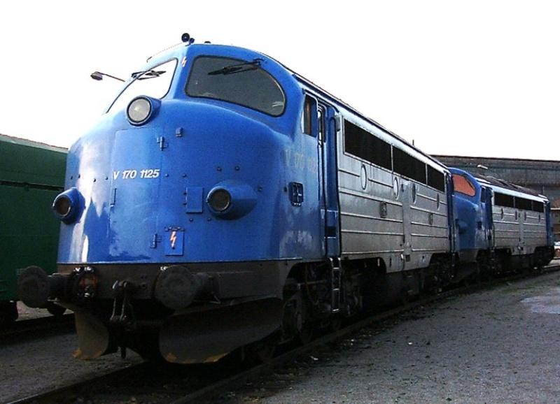 Mein Fotoalbum aus meiner aktiven Zeit bei einer Industrieeisenbahn V170-210