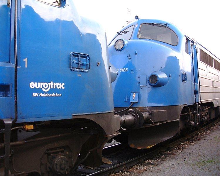 Mein Fotoalbum aus meiner aktiven Zeit bei einer Industrieeisenbahn V170-610