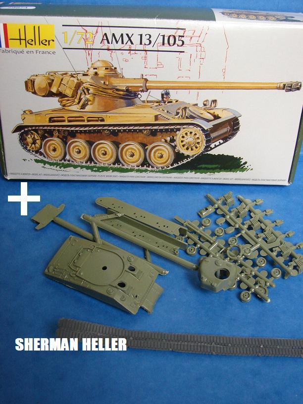 Sherman FL10 Egyptien [Heller - 1/72ème] Dsc08836