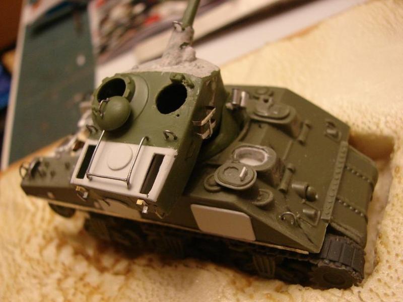 Sherman FL10 Egyptien [Heller - 1/72ème] Dsc08928