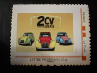 A la recherche d'un timbre 2cv....  Mondiale 2011 2012-110