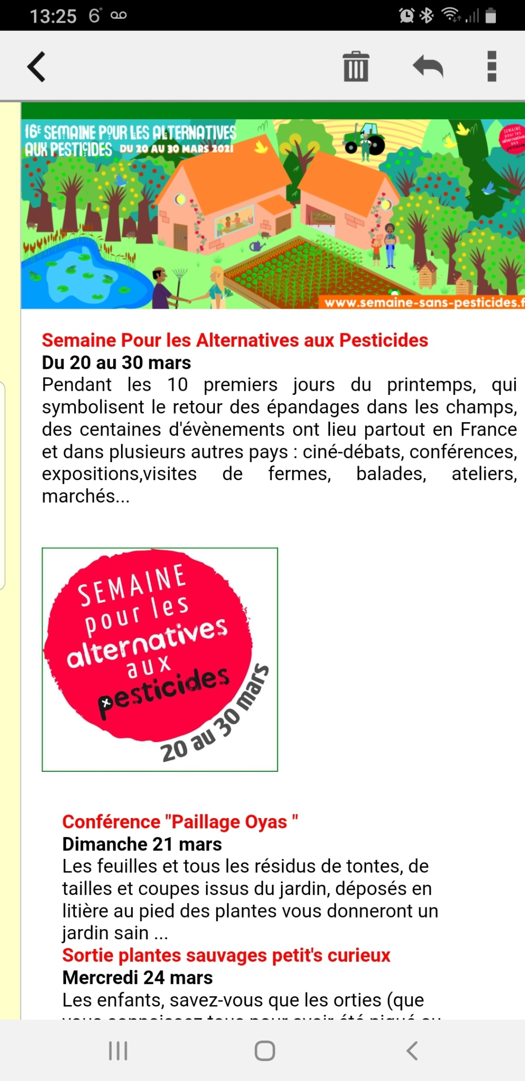 Semaine pour les alternatives aux pesticides Screen10