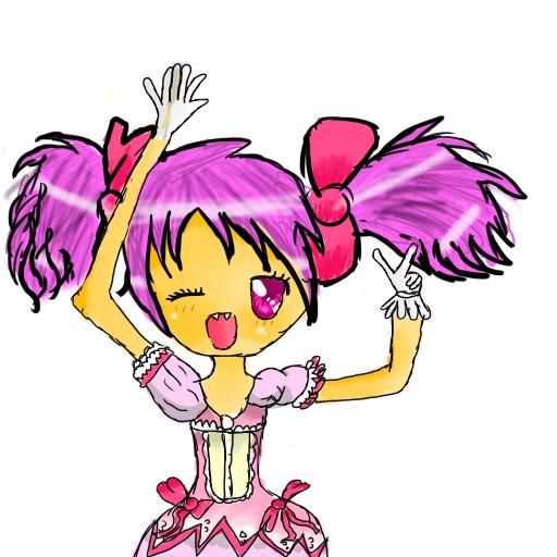 Madoka kaname drawing Madoka10