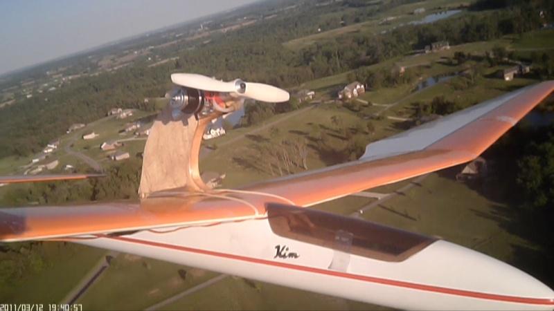 Power Pod for my 3-Meter Bird of Time Sailplane 410