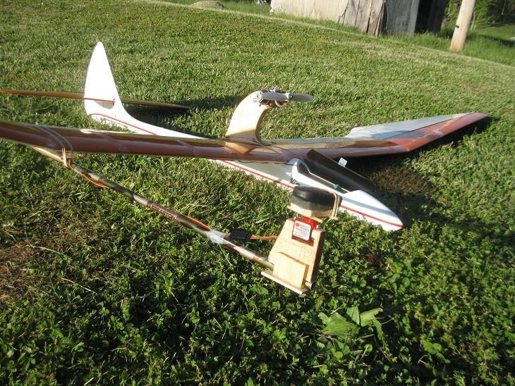 Power Pod for my 3-Meter Bird of Time Sailplane 7_11