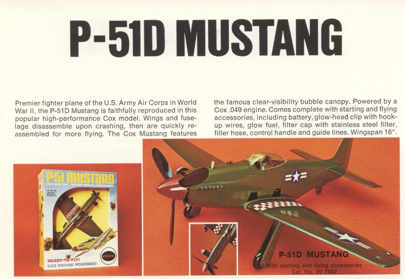 Newly aquired Cox P-51 1972pa10