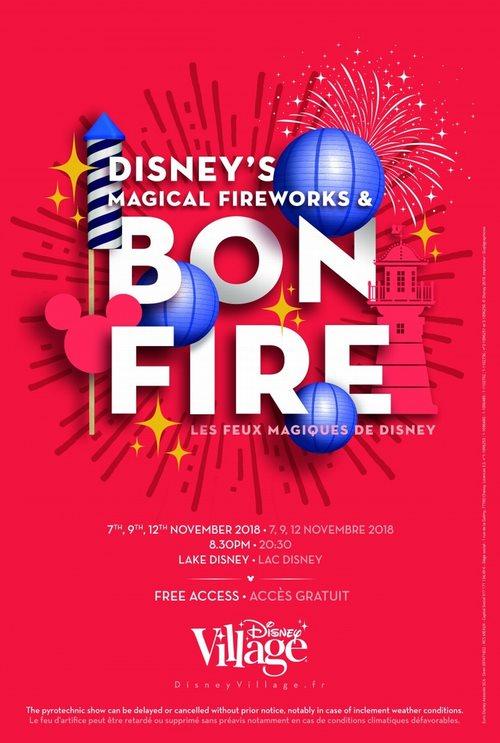 Les Feux Magiques de Disney/ Disney's Magical Fireworks & Bonfire - 4, 6 et 8 Novembre 2019 Wall10