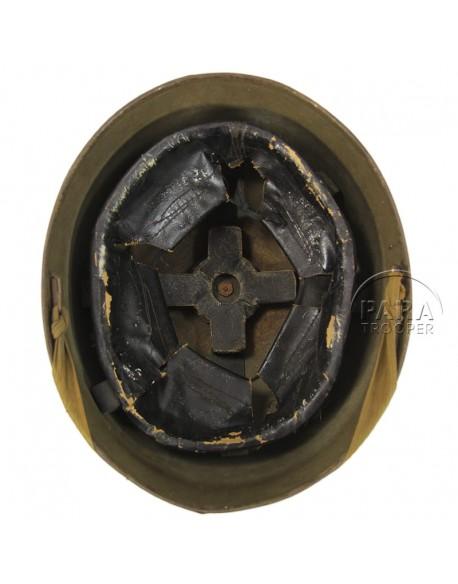 casque tankiste anglais royal armored corps 915