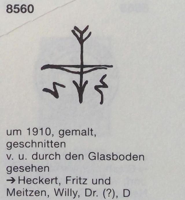 Fritz Heckert verre à liqueur Win_2040