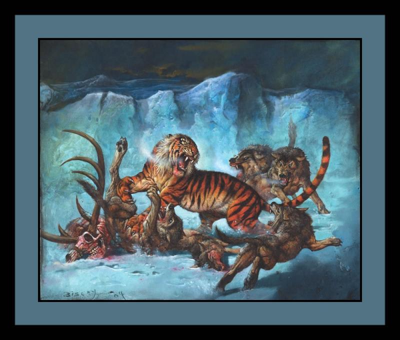 ILUSTRAÇÕES ANIMAIS Tigre_11
