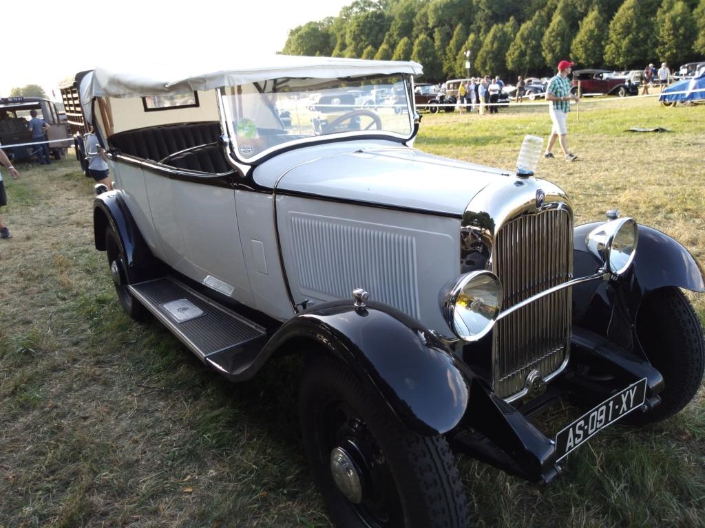 19,20 et 21 juillet Citroën à la Ferté Vidame dans le Perche Img_2191