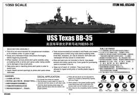 USS Texas BB-35 1:350 trumpeter up le 04/10/2018 2be0e010