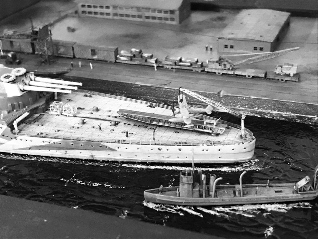 Port italien 1/700 vittorio veneto trumpeter 1/700 E439f410