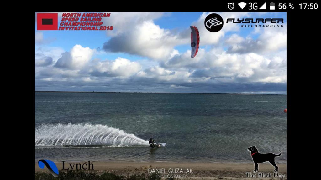 Robbie Douglas encore champion du monde de vitesse en Flysurfer Soul ! Screen10