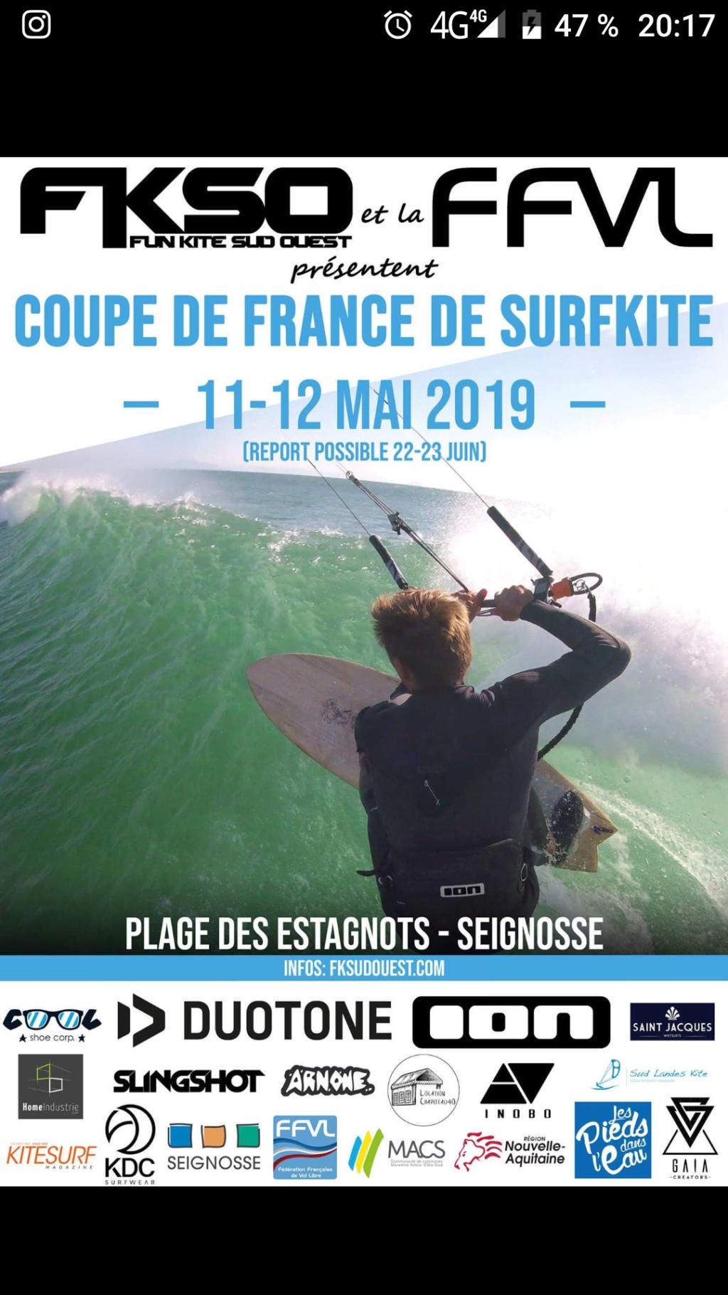 Coupe de France de surfkite dans les Landes Screen12