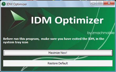 كيف تحسن سرعة التحميل في برنامج Internet download Manager 13268510