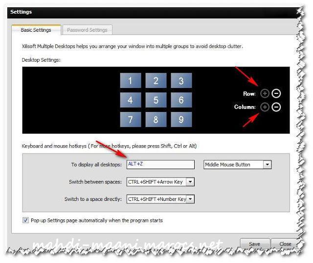 برنامج Xilisoft المكتبية متعددة لإمتلاك اكثر من سطح مكتب على نظام الويندوز 68802_10