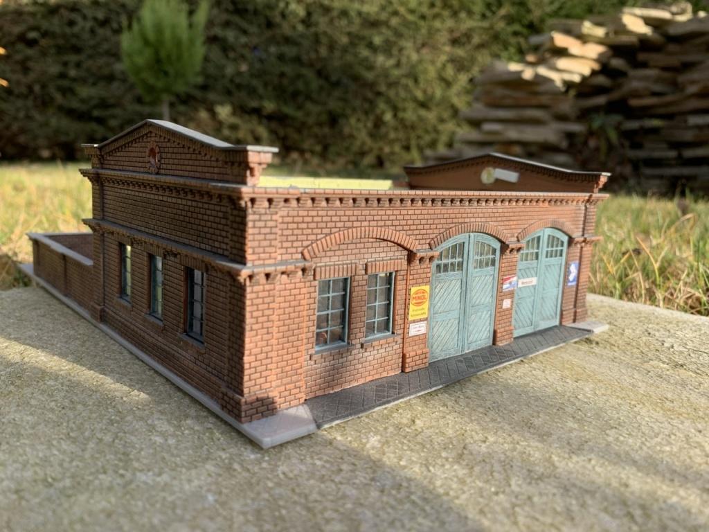 Bahnbauten - Auhagen / Pola / Kibri / Faller / Vollmer 41c10a10