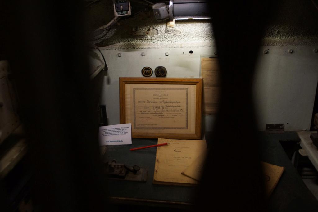 [ Les musées en rapport avec la Marine ] Sous-Marin Espadon (Saint-Nazaire). - Page 4 Dsc03510