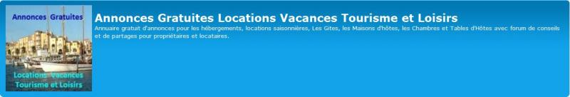 """Lettre d'Informations N°05 FORUM-ANNONCES """"Annonces Gratuites Locations Vacances Tourisme et Loisirs"""" Reside16"""