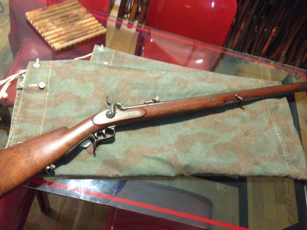 Baïonnette pour fusil ou carabine Fédérale Suisse Milbank ????? Img_2310