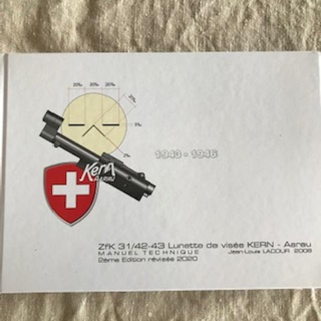 Livre technique sur les lunettes des fusils de précision suisse 42 et 43 Img_2613