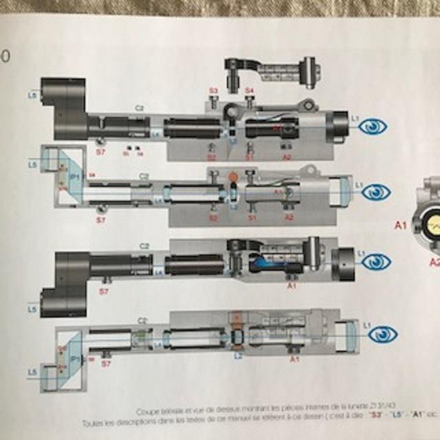 Livre technique sur les lunettes des fusils de précision suisse 42 et 43 Img_2614