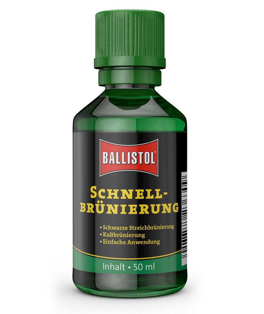 Brunissage/noircissage avec du Ballistol Klever10