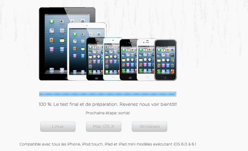 Jailbreak iOS 6.0 / 6.1 untethered: dispo Captur14