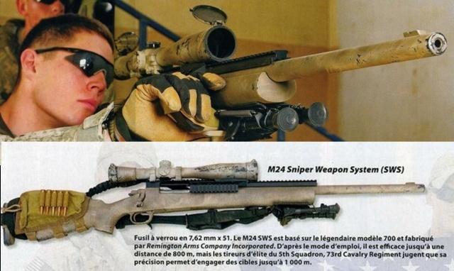 US Army Grunt Kit list universelle  M24f10