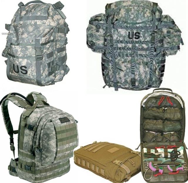 US Army Grunt Kit list universelle  Sacp10