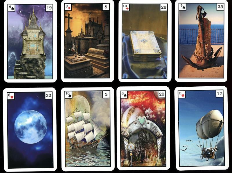 Les différentes versions des  cartes Lenormand - Page 9 Angeli10
