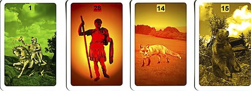 Les différentes versions des  cartes Lenormand - Page 9 Cartes10