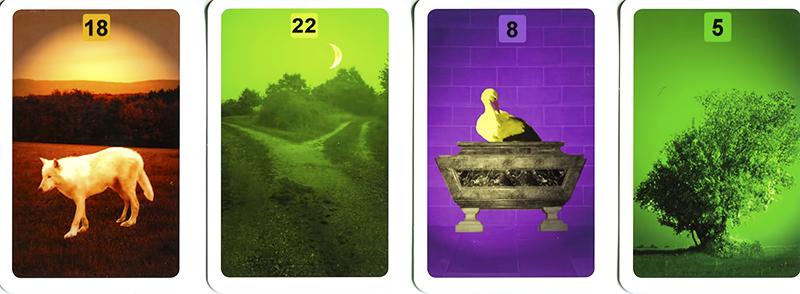 Les différentes versions des  cartes Lenormand - Page 9 Cartes11