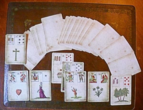 L'origine des cartes de Mademoiselle Lenormand Origin10
